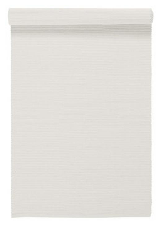 TISCHLÄUFER Textil Weiß 45/150 cm - Weiß, Basics, Textil (45/150cm) - LINUM
