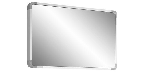 SPIEGEL 94/61/6 cm  - Weiß, Design, Glas/Holzwerkstoff (94/61/6cm) - Moderano