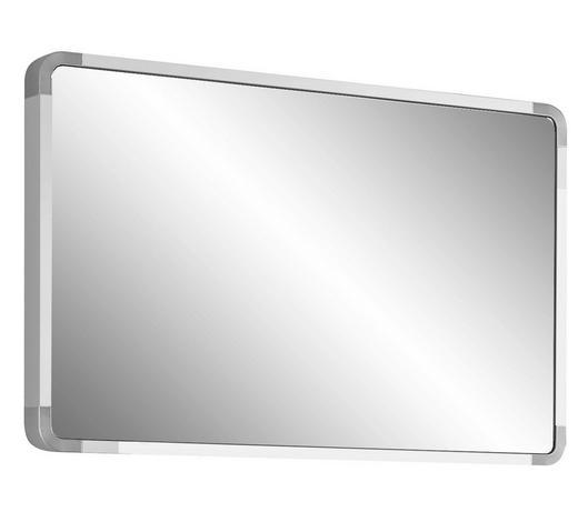 SPIEGEL Weiß  - Weiß, Design, Holzwerkstoff/Metall (94/61/6cm) - Moderano