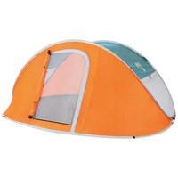 ZELT 68005 NUCAMP X3 TENT - Orange, KONVENTIONELL, Textil (235/190/100cm) - Bestway