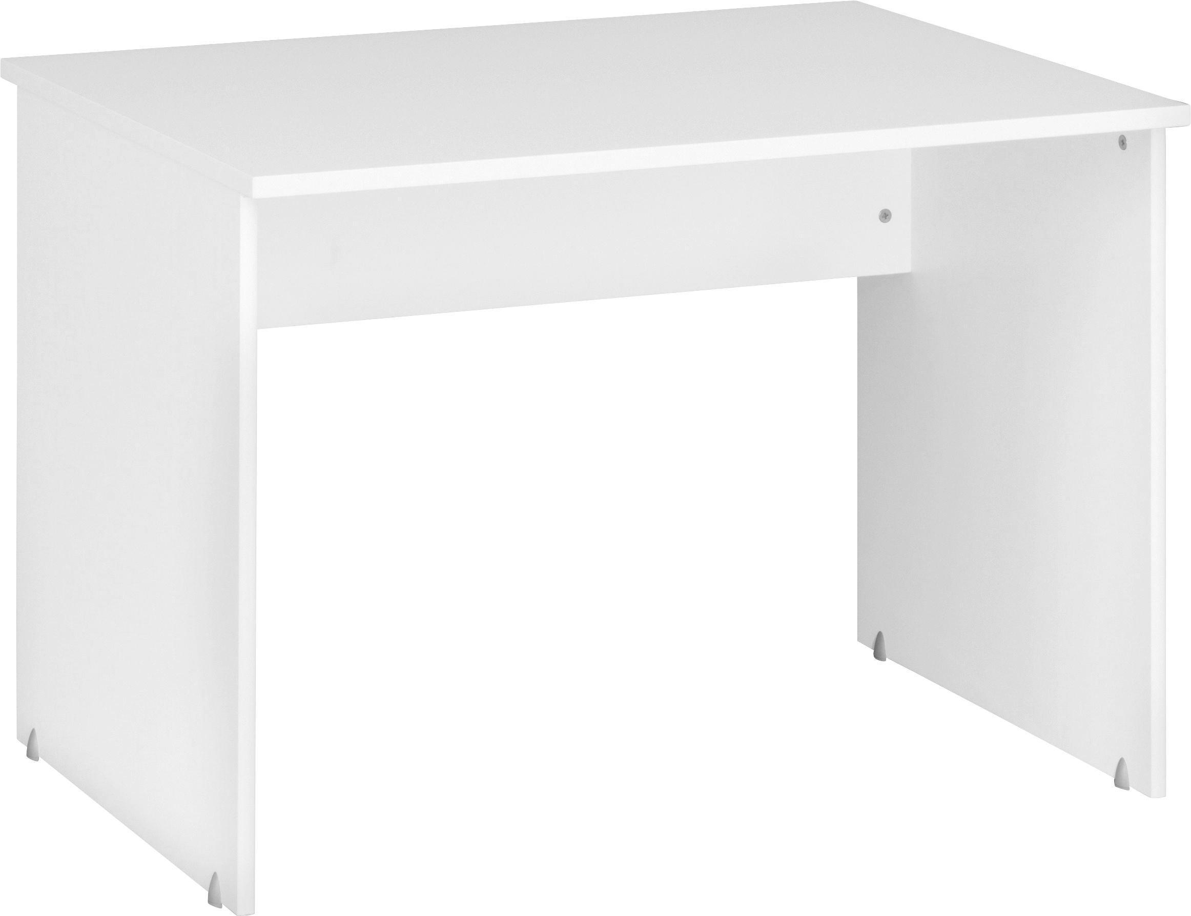 SCHREIBTISCH - Weiß, KONVENTIONELL, Holzwerkstoff (106/75/75cm) - CS SCHMAL