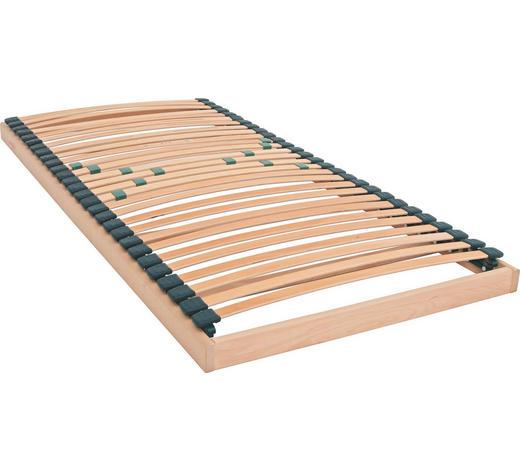 LATTENROST 90/200 cm - Buchefarben, Basics, Holz (90/200cm) - Sembella