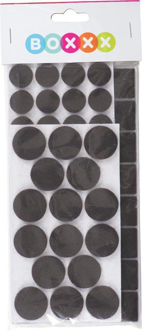 MÖBELTASSAR - mörkbrun, Basics, textil - Boxxx