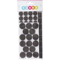 ŠTITNIK PODA OD FILCA - tamno smeđa, Basics, tekstil - Boxxx