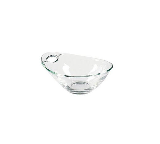 SCHÜSSEL 18 cm  - Klar/Transparent, Design, Glas (18cm) - Homeware