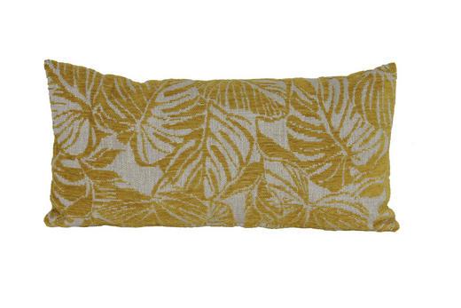 ZIERKISSEN 60/30 cm - Gelb, Trend, Textil (60/30cm)