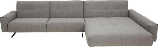 WOHNLANDSCHAFT - Beige/Braun, Design, Textil (361/198cm) - Rolf Benz