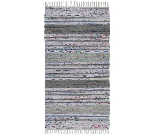 HADROVÝ KOBEREC, 80/150 cm, šedá, bílá - šedá/bílá, Konvenční, textil (80/150cm) - Boxxx