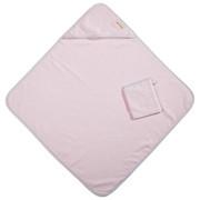 KAPUZENBADETUCH - Rosa, Basics, Textil (80/80cm) - Patinio