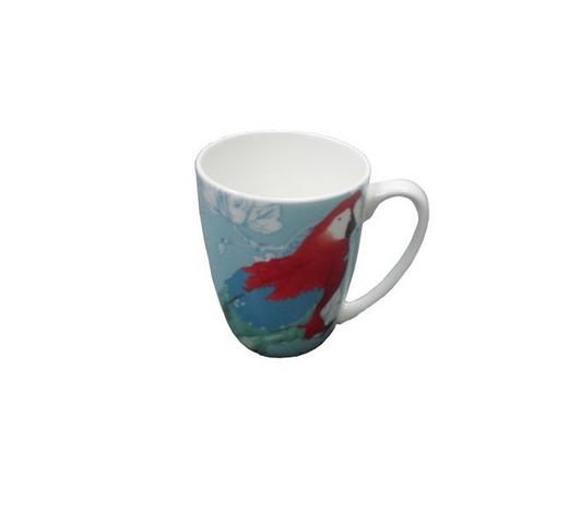 KAFFEEBECHER 325 ml - Blau, KONVENTIONELL, Keramik (0,325l) - Landscape