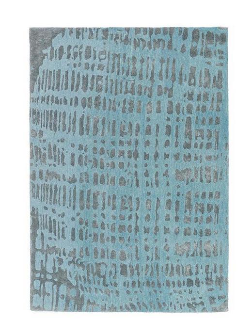 JOOP  CROCO  140/200 cm  Blau, Silberfarben - Blau/Silberfarben, Basics, Textil (140/200cm) - Joop!