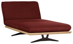 OTTOMANE in Holz, Textil Rostfarben - Rostfarben/Beige, Design, Holz/Textil (114/92/165-218cm) - Dieter Knoll