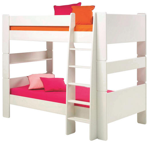 ETAGENBETT 90/200 cm - Weiß, Design, Holz (90/200cm) - Carryhome