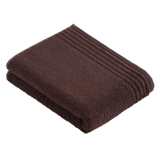 BADETUCH 80/160 cm - Dunkelbraun, Basics, Textil (80/160cm) - VOSSEN