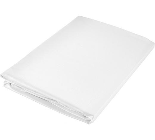 PROSTĚRADLO NAPÍNACÍ, satén, 90/200 cm - bílá, Basics, textil (90/200cm) - Curt Bauer