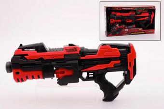 Serve & Protect Rotating Rot, Schwarz - Rot/Schwarz, Basics, Kunststoff (45cm)