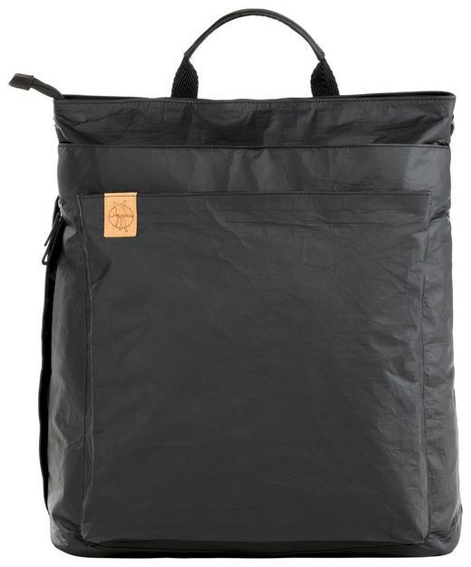 WICKELTASCHE - Schwarz, Basics, Textil (38/18/43cm) - Lässig