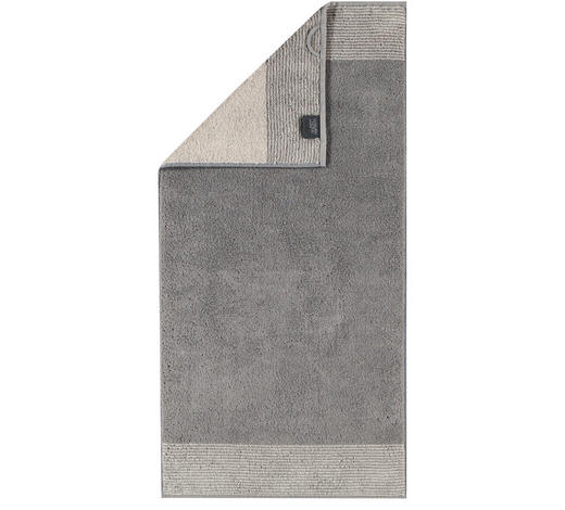 HANDTUCH 50/100 cm  - Graphitfarben, Design, Textil (50/100cm) - Cawoe