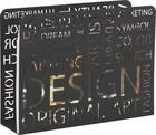STOJAN NA NOVINY - černá, Design, kov (35/28/10cm)