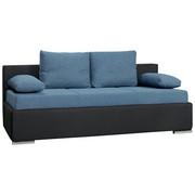 TROSED,  modra, črna tekstil  - modra/črna, Design, tekstil (205/80/100cm) - Boxxx