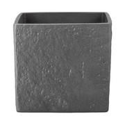 ÜBERTOPF 14/14/12 cm - Anthrazit, Basics, Keramik (14/14/12cm)
