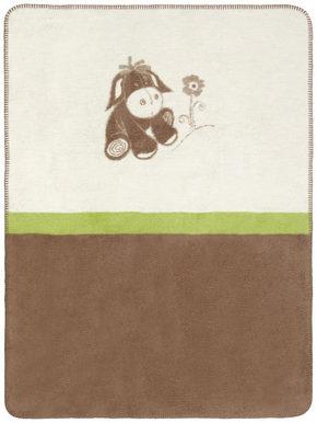 MYSFILT - grön/creme, Basics, textil (75/100cm) - My Baby Lou