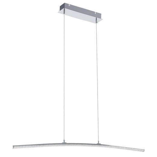 LED-HÄNGELEUCHTE - Chromfarben, MODERN, Kunststoff/Metall (91/8/120cm) - Novel