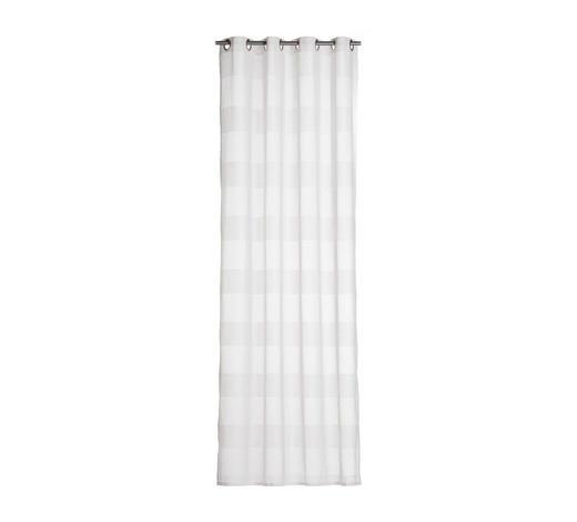 ÖSENSCHAL  halbtransparent   140/245 cm  - Blau, Basics, Textil (140/245cm) - Esposa
