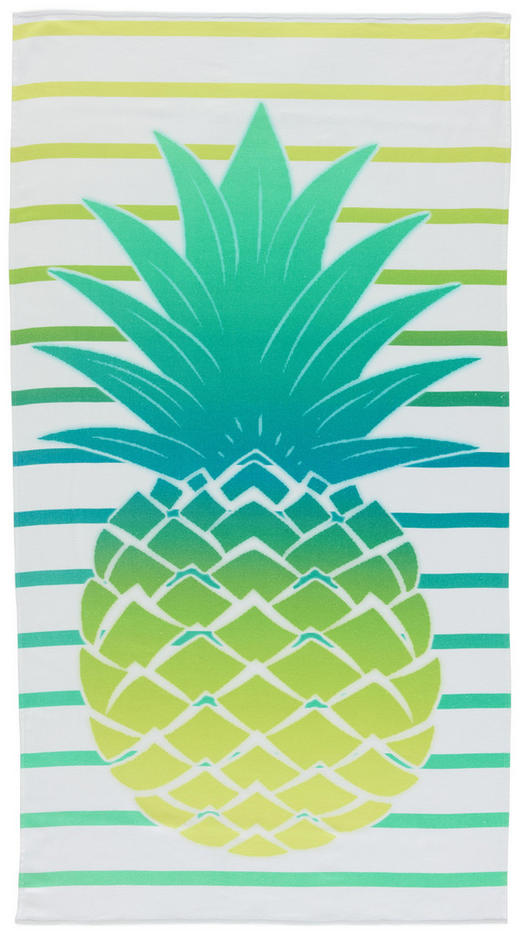 STRANDTUCH 90 180  cm - Multicolor, Basics, Textil (90 180 cm) - Esposa