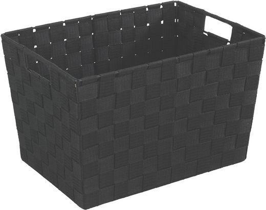 KOŠ - černá, Basics, umělá hmota (35/25/20cm)