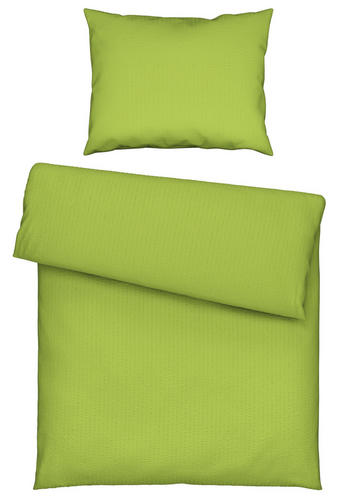 POVLEČENÍ - zelená, Basics, textil (140/200cm) - Novel