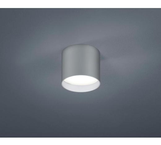 LED-DECKENLEUCHTE   - Silberfarben, KONVENTIONELL, Metall (10/8,5cm) - Helestra