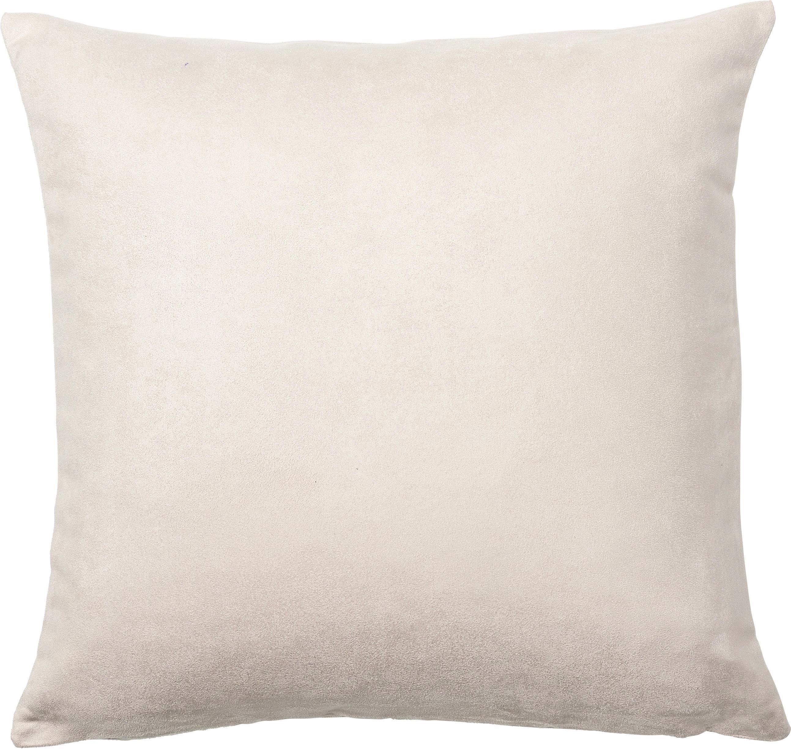 KISSENHÜLLE 40/40 cm - Creme, Basics, Textil (40/40cm) - NOVEL