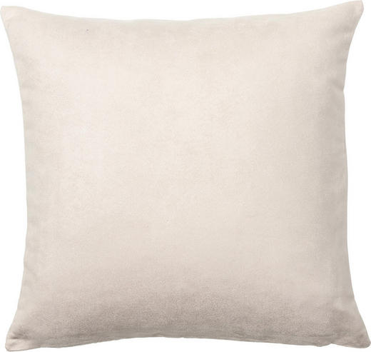 KISSENHÜLLE Creme 40/40 cm - Creme, Basics, Textil (40/40cm) - NOVEL