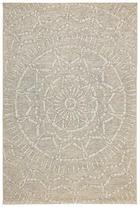 FLACHWEBETEPPICH  60/110 cm  Creme, Sandfarben - Sandfarben/Creme, Textil (60/110cm)
