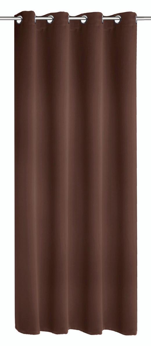 ÖSENSCHAL   140/245 cm - Braun, Design, Textil (140/245cm) - Esposa