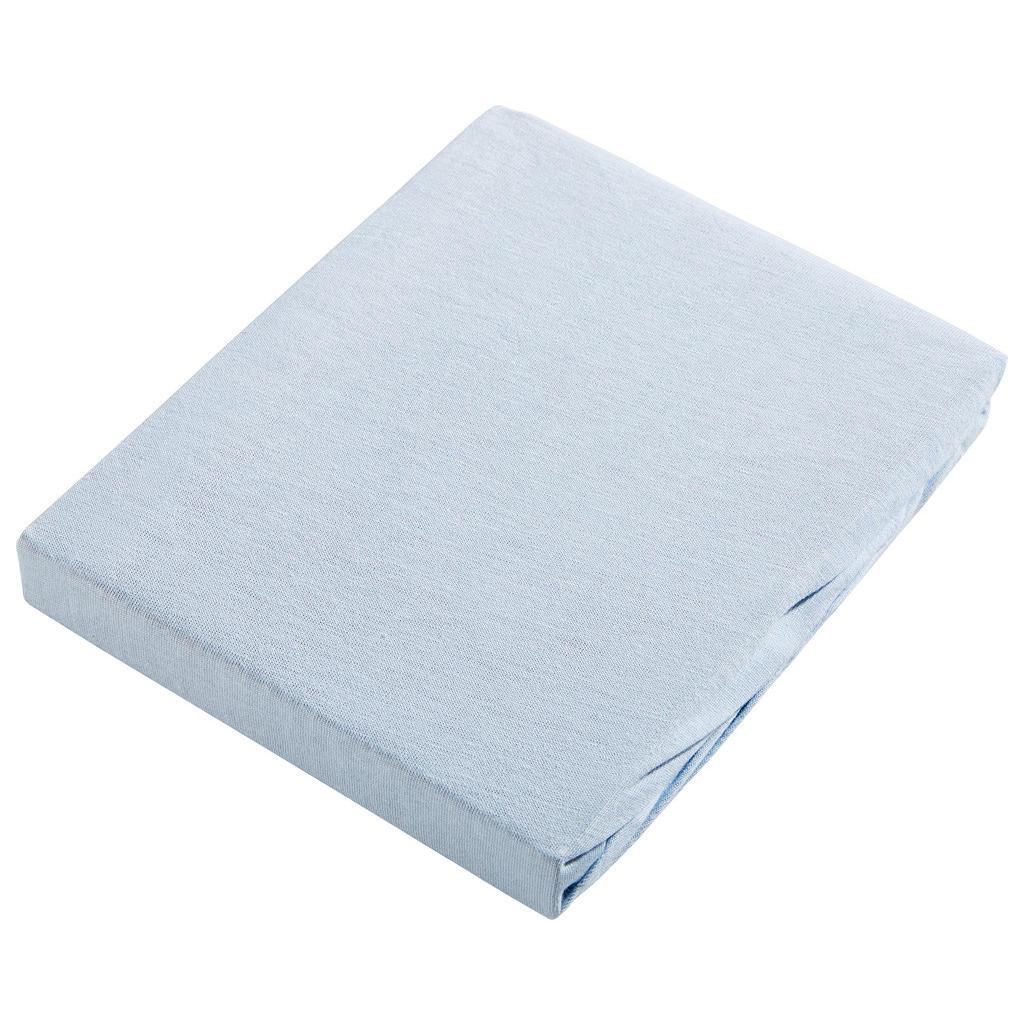 Image of Esposa Kinderfixleintuch 40/90 cm , Jersey , Hellblau , Textil , 40x90 cm , Jersey , Rundumgummi , 007960002506
