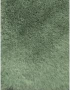 KOBEREC S VYSOKÝM VLASEM, 70/130 cm, mátově zelená - mátově zelená, Trend, textil (70/130cm) - Novel