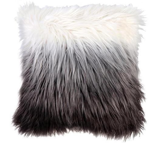 FELLKISSEN  - Grau, Trend, Textil (47/47cm) - Ambia Home