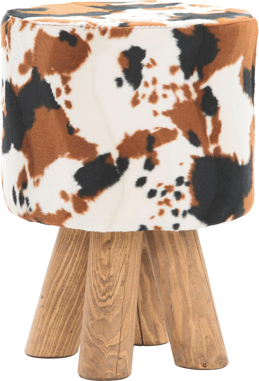 TABURE - višebojno/boje bukve, Lifestyle, drvo/tekstil (30/45/30cm) - LANDSCAPE