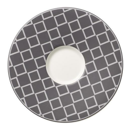 UNTERTASSE - Weiß/Grau, Basics, Keramik (17cm) - Villeroy & Boch