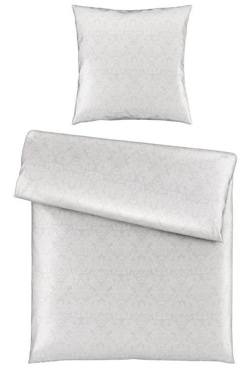 BETTWÄSCHE Damast Silberfarben 135/200 cm - Silberfarben, LIFESTYLE, Textil (135/200cm) - Ambiente