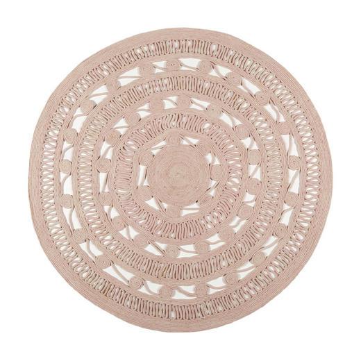 HANDWEBTEPPICH   Altrosa - Altrosa, ROMANTIK / LANDHAUS, Textil (120cm) - Esprit