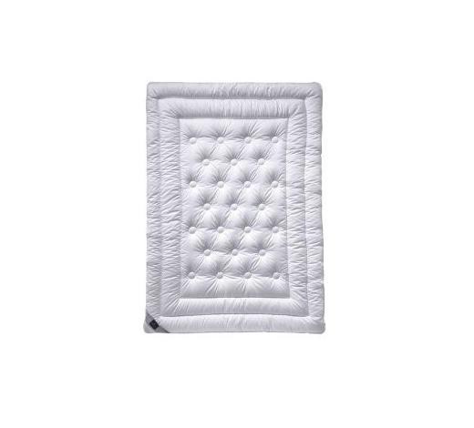 CELOLETNA PREŠITA ODEJA UNO - bela, Basics, tekstil (135/200cm) - Billerbeck
