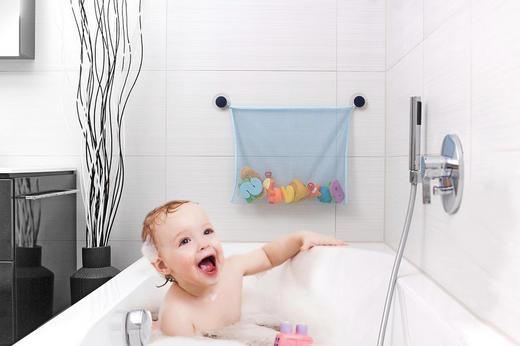 Badespielzeug-Netz - Hellblau, Basics, Textil (43/36cm) - Reer