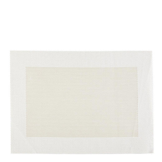 TISCHSET - Beige/Weiß, Basics, Kunststoff - ASA