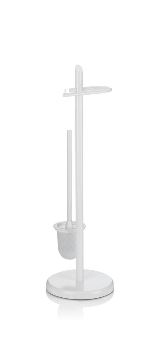 WC-BÜRSTENKOMBINATION - Weiß, Basics, Kunststoff/Metall (22/73cm) - Kela