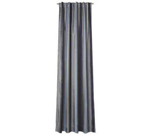 VORHANGSCHAL  blickdicht   130/250 cm  - Schlammfarben/Graphitfarben, Design, Textil (130/250cm) - Joop!