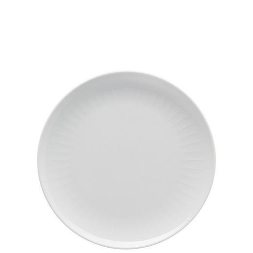 TELLER Keramik Porzellan - Weiß, Basics, Keramik (24cm)