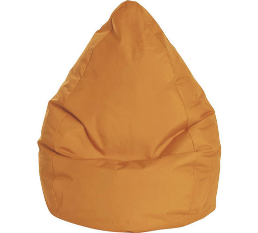 SITZSACK Orange  - Orange, Design, Textil (80/130/80cm) - Carryhome